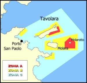 isola di tavolara - area marina